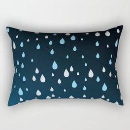 Rain Rain Rain Rectangular Pillow