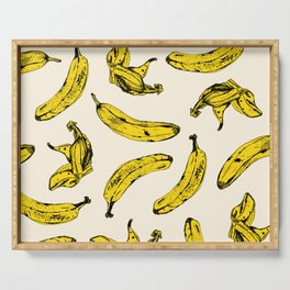 Banana Cream Serving Tray