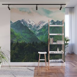 Escaping from woodland heights IV Wall Mural