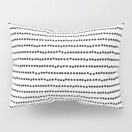 Modern Patter, Black and White, Minimalist Pillow Sham