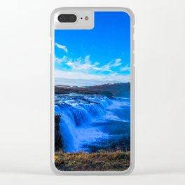 Waterfall. Clear iPhone Case