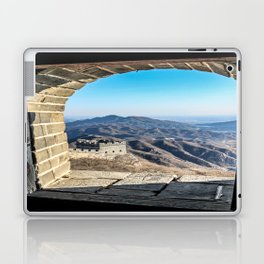 Window with a View of the Great Wall Laptop & iPad Skin