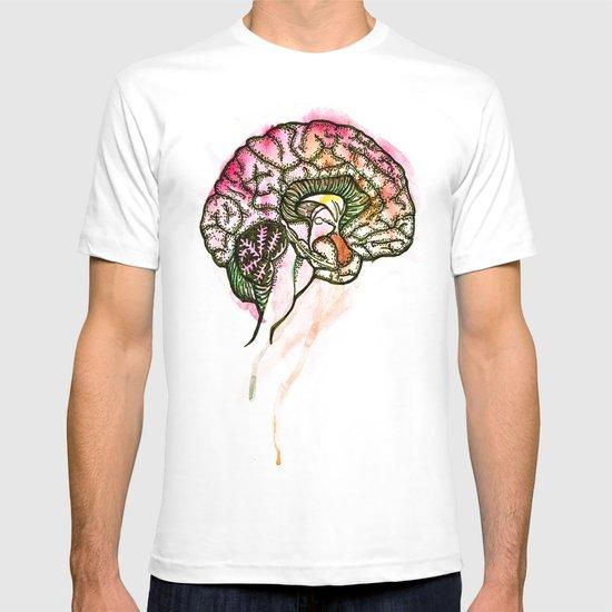 Brain. T-shirt