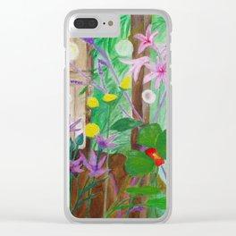 Fireflies in the Garden Clear iPhone Case