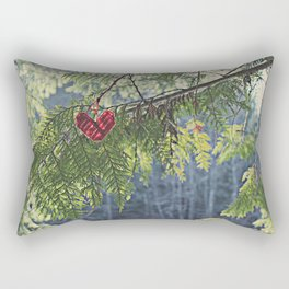 Nature's Heart Rectangular Pillow