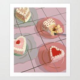 sweet treat Art Print