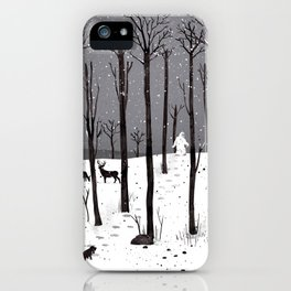 Mister Yeti's Great Escape iPhone Case