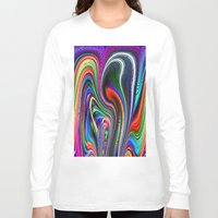 oriental Long Sleeve T-shirts featuring Oriental Vapours by David  Gough