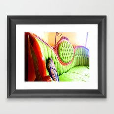 Have A Seat! Framed Art Print
