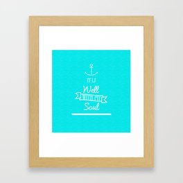 | It is Well With My Soul | Framed Art Print