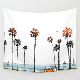 LA love  Wall Tapestry