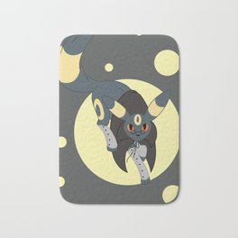 Dark Steampunk Fox Bath Mat
