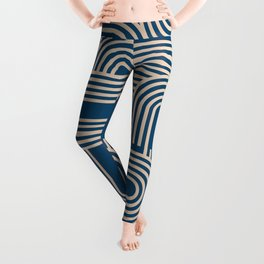 Abstraction_WAVE_GRAPHIC_VISUAL_ART_Minimalism_001 Leggings