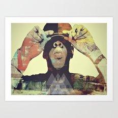 ONTO YHR NEXT ONE (Jay-Z) Art Print