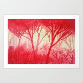 Memory Landscape 13 Art Print