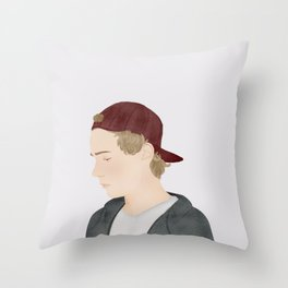 Skam | Isak Valtersen Throw Pillow