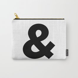 Sans Serif Ampersand  Carry-All Pouch