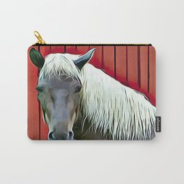 Icelandic Palomino Horse Carry-All Pouch