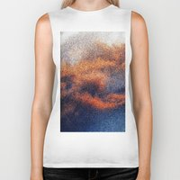 cosmic Biker Tanks featuring COSMIC by COUSE