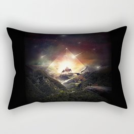 The Glass Mountain Rectangular Pillow