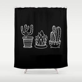 Plants in Pots Shower Curtain