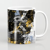 lion king Mugs featuring LION KING by Taylor Callery Illustration