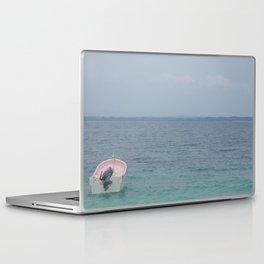 Boat on the Ocean Blue Laptop & iPad Skin