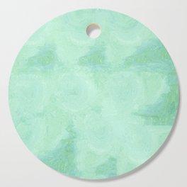 Blue Gray Cotton Fluff Cutting Board