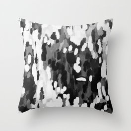 No. 68 Modern Abstract Painting Throw Pillow