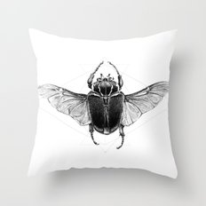 Beetle Throw Pillow