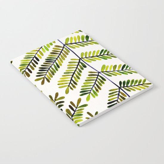 Green Leaflets Notebook