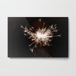 Baby, you're a firework! Metal Print