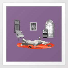 These Unselected —Tragedy Art Print