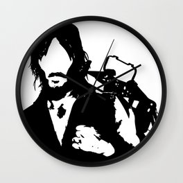 Daryl from The Walking Dead Wall Clock