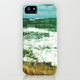 Ocean Healing iPhone Case