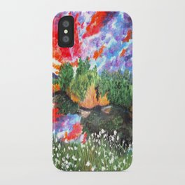 Rainbow Skies iPhone Case