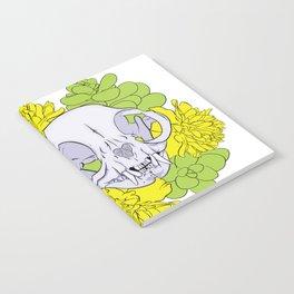 Persian Kitty Skull Notebook