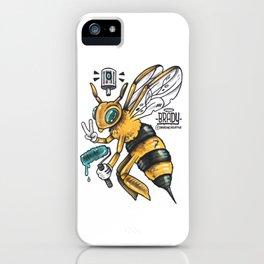 Peace BEE iPhone Case