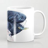 libra Mugs featuring Libra by Aloke Design