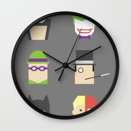 Batimalism Wall Clock