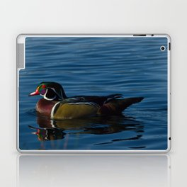 Colorful Wood Duck Laptop & iPad Skin
