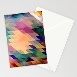 Triangles And Parallelograms Stationery Cards