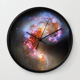 The Antennae Galaxies Wall Clock