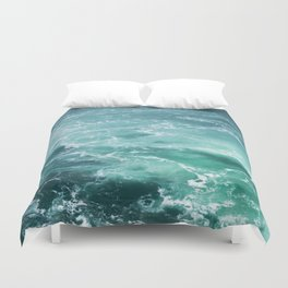 Sea Waves   Seascape Photography   Water   Ocean   Beach   Aerial Photography Duvet Cover