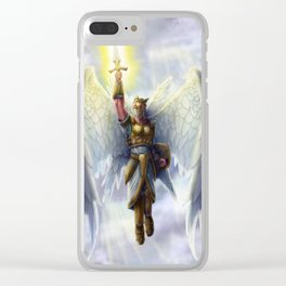 Archangel Clear iPhone Case