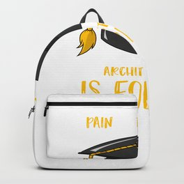 Architecture Architect Designer Art Student Backpack
