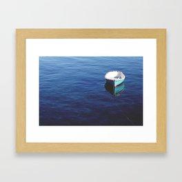 Drifting. Framed Art Print