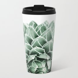 Succulent splendour Metal Travel Mug
