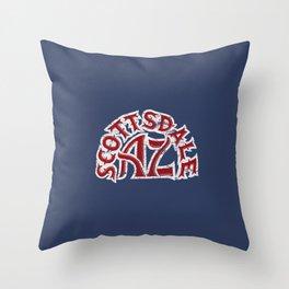 Scottsdale AZ Throw Pillow