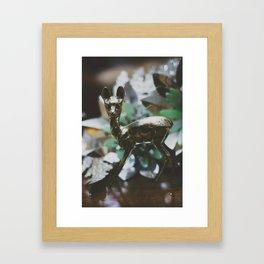 Ciervito Framed Art Print